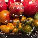 Pack Plaisir - 4 bags of tomate seeds