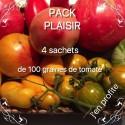 Pack Plaisir - 4 sachets de tomate